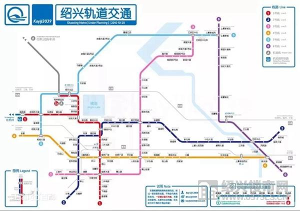 地铁规划图