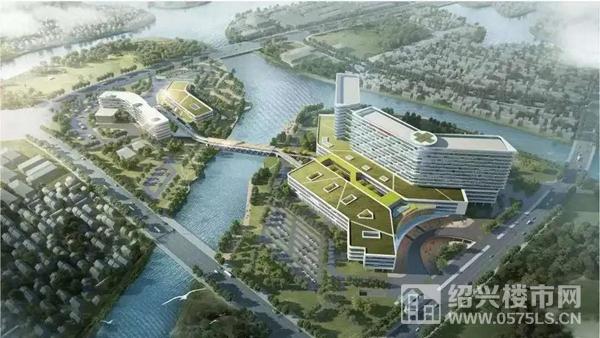 △绍兴市人民医院镜湖新院规划图-图片来源于网络