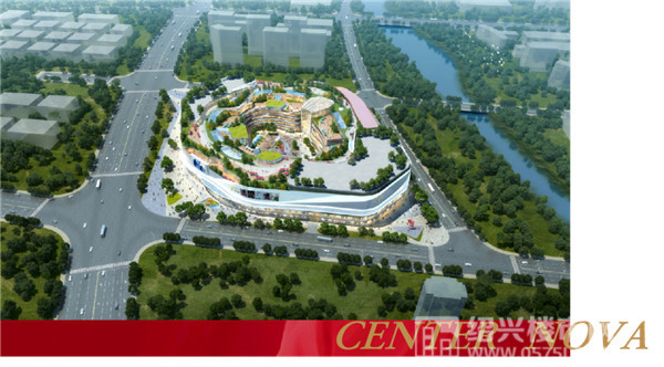 苏宁广场效果图   图片来源于网络