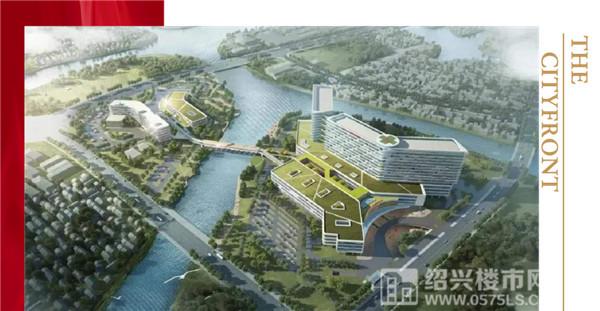 绍兴市人民医院镜湖总院效果图 图片来源于网络