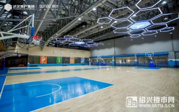 奥体篮球馆实景图