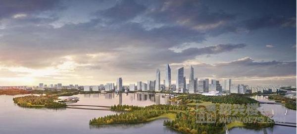 绍兴镜湖核心区域未来蓝图