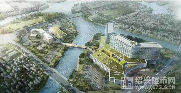 绍兴市人民医院镜湖总院效果图(在建中)