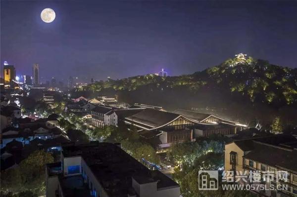 △绍兴古城夜景