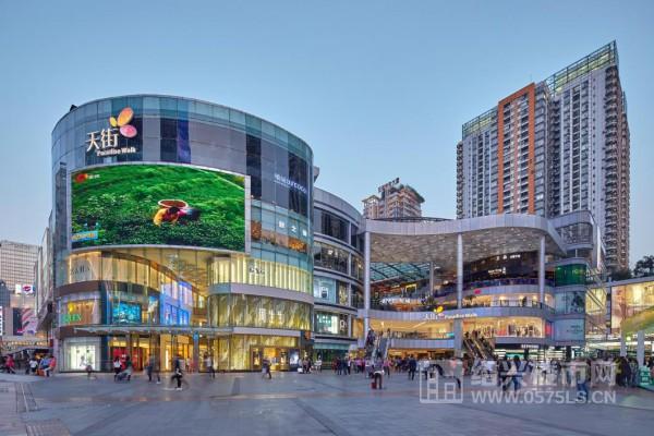 重庆北城天街实景