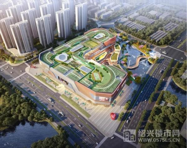 龙湖绍兴镜湖天街效果图(图片来源于网络)