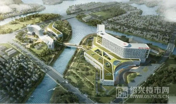 绍兴市人民医院镜湖总院效果图