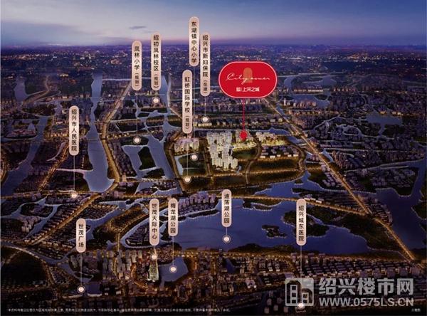 金科旭辉・上河之城区位示意图