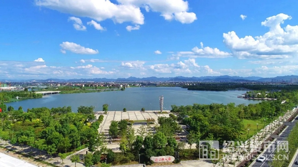 △袍江洋泾湖公园(图源网络)