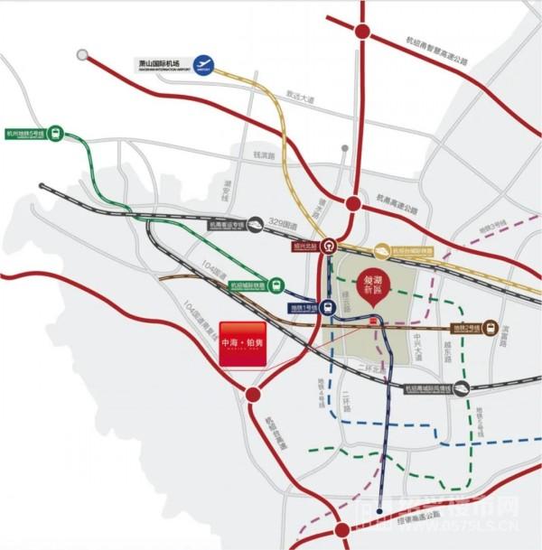 镜湖交通网示意图 | 图片来源搜狐网