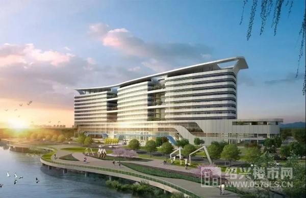 新绍兴市妇保医院效果图 | 图片来源:搜狐网